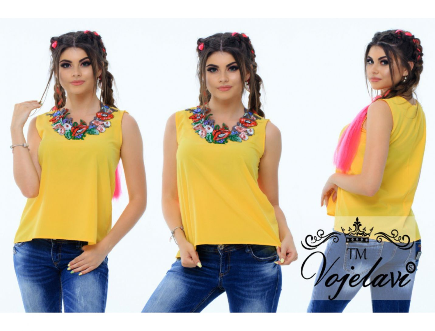 Блузка №2062-480