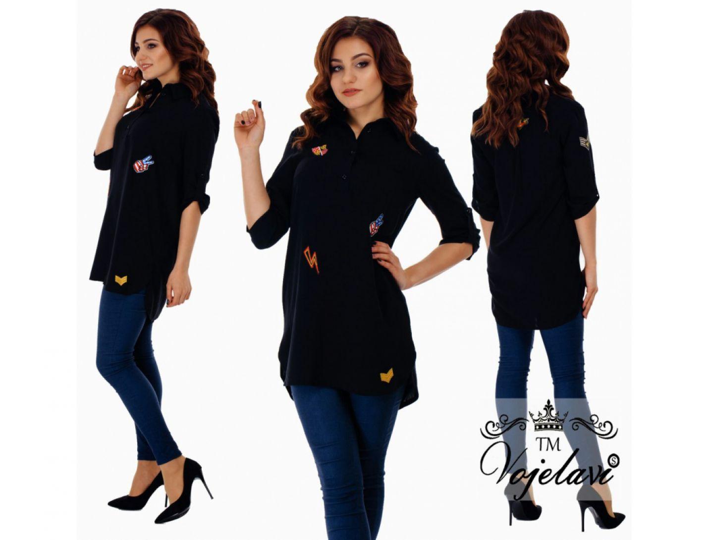 Рубашка-туника №2030-438
