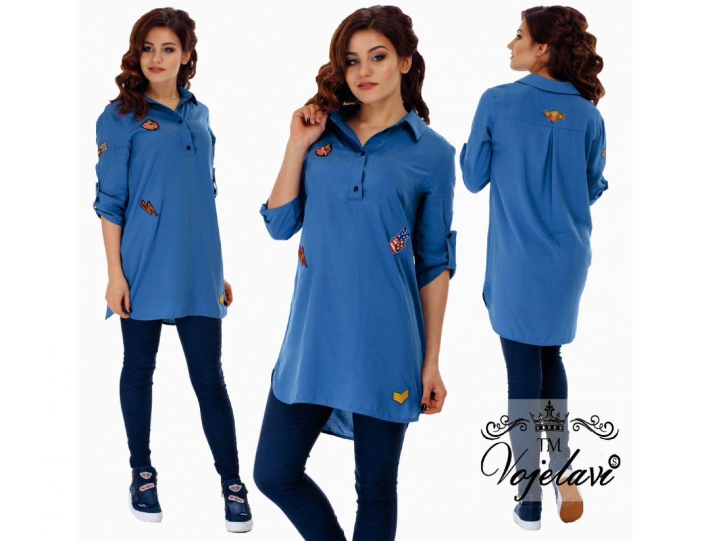 Рубашка-туника №2031-438