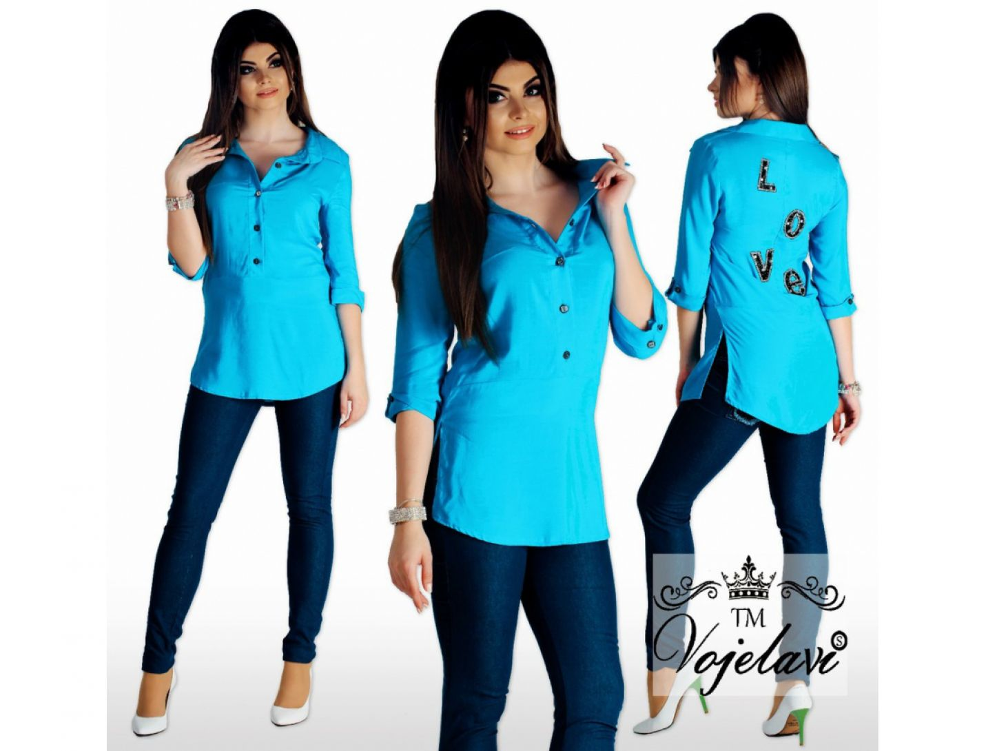 Рубашка №2021-449
