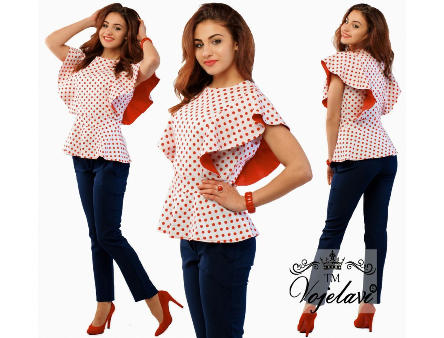 Блузка №2035-302